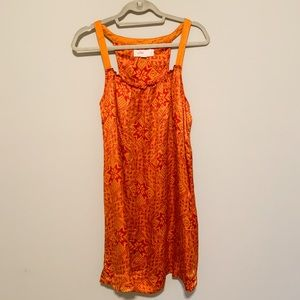 Lilka-  Anthropologie Hammered Silk Nightie Size M